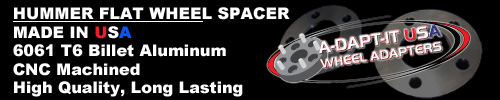 Hummer Wheel Spacer