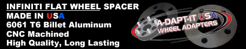 Infiniti Wheel Spacer