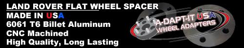 Land Rover Wheel Spacer