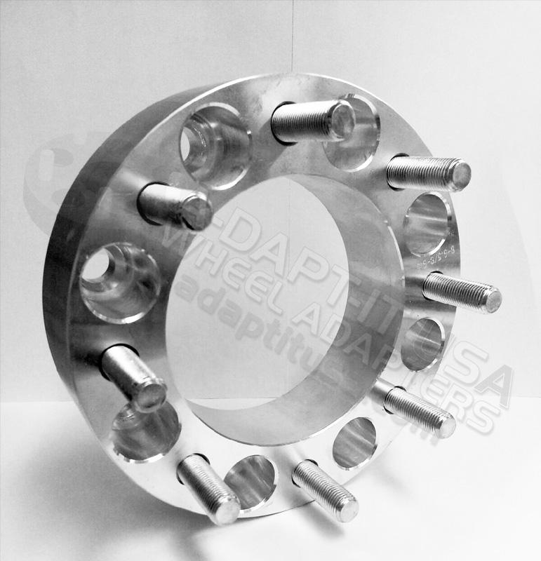60 Lug To 60 Lug Wheel Adapter Or Wheel Spacer Amazing Dodge 8 Lug Bolt Pattern