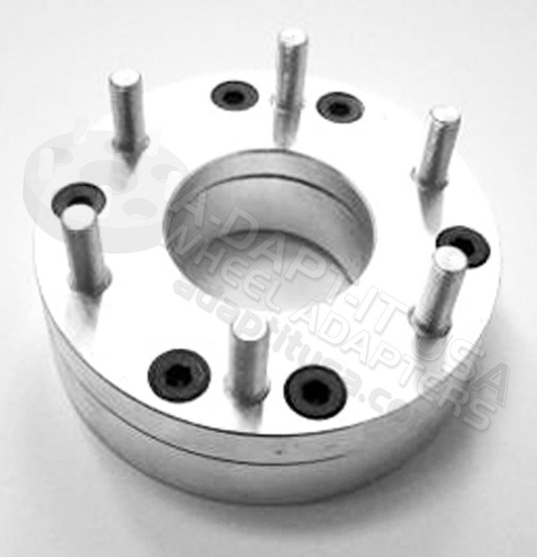 Lug Pattern >> 5 X 4.50 to 6 X 5.50 Wheel Adapter/ Wheel Spacer