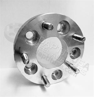Wheel Adapters 5x120 to 5x5.50